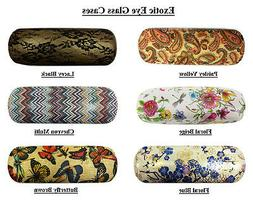 Exotic Eye Glass Cases in various designs and Colors