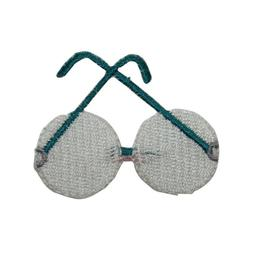 ID 7532 Classic Eye Glasses Patch Reading Fashion Embroidere