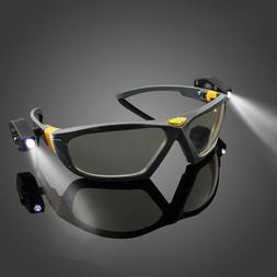 LED Safety Goggles Night Reading Eye Glasses Car Repair Outd