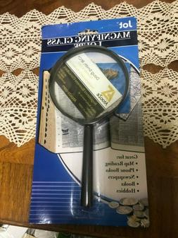 Jot Magnifying eye glass loupe/great for books, map reading,