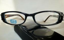 """MAGNIVISION PRIVATE EYES READING GLASSES """"Chelsea"""" w Hard Ca"""
