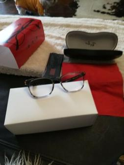 Reading Eye Glasses.Ray Ban. Turtle shell frame.Brown color.