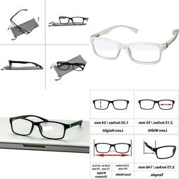 White Computer Reading Glasses 1.25 Protect Your Eyes Agains